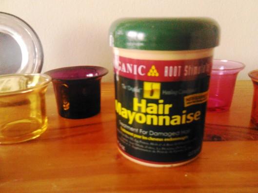 Organic Root Stimulator Hair Mayonnaise