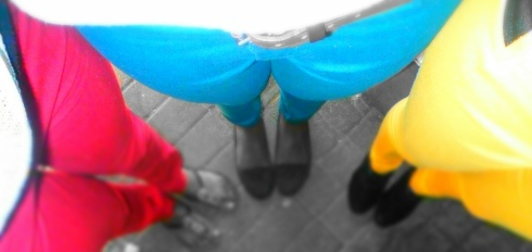 Because cool people wear coloured pants. :)