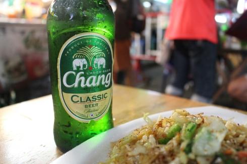 Popular Chang beer