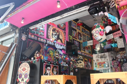 One of the gazillion tattoo parlours
