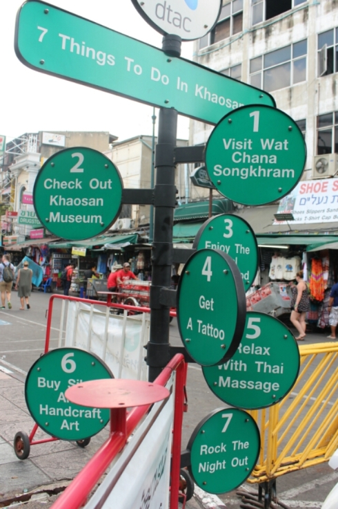 7 things to do in Khaosan road