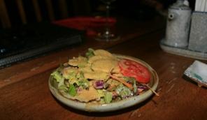 complimentary salad