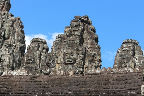 Bayon Smiling Faces Temple Cambodia (3)