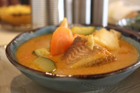 Nyama Mama Express Nairobi coconut fish stew