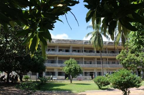 S21 museum Tuol Sleng Prison Phnom Penh