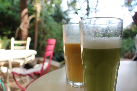 Tin Roof Passion Fruit Juice, Pineapple and Mint Juice, the Souk- Nairobi (Kenya)