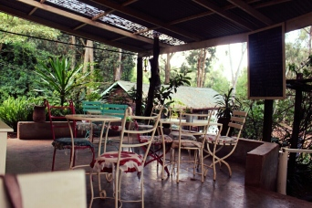 Tin Roof Porch Seating, the Souk- Nairobi (Kenya)
